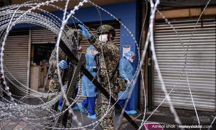 Jalan Masjid India Under Lockdown 06