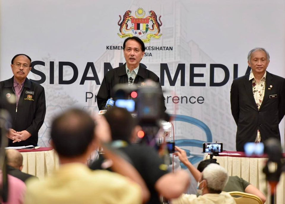 COVID-19 in Malaysia : 6742 Cases, 5223 Healed, 109 Dead