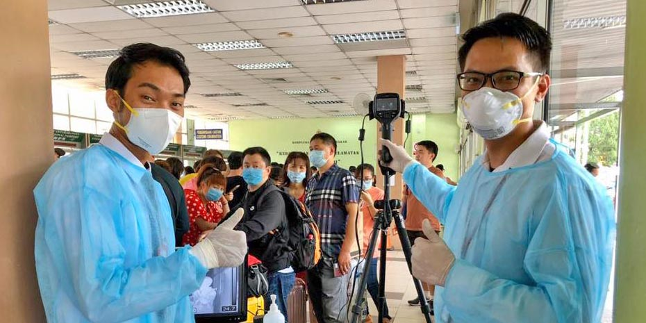 COVID-19 in Malaysia : 7819 Cases, 6353 Healed, 115 Dead