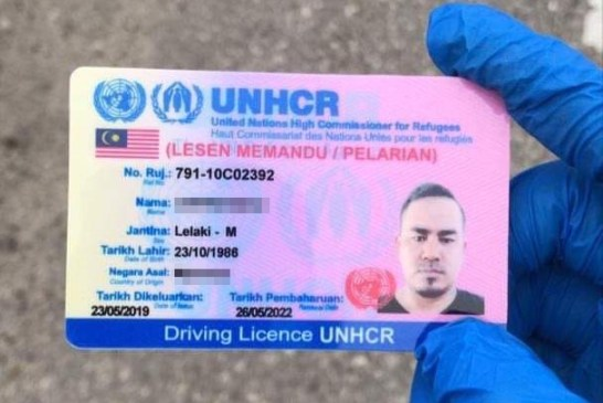 Fact Check : UNHCR Driving Licence In Malaysia