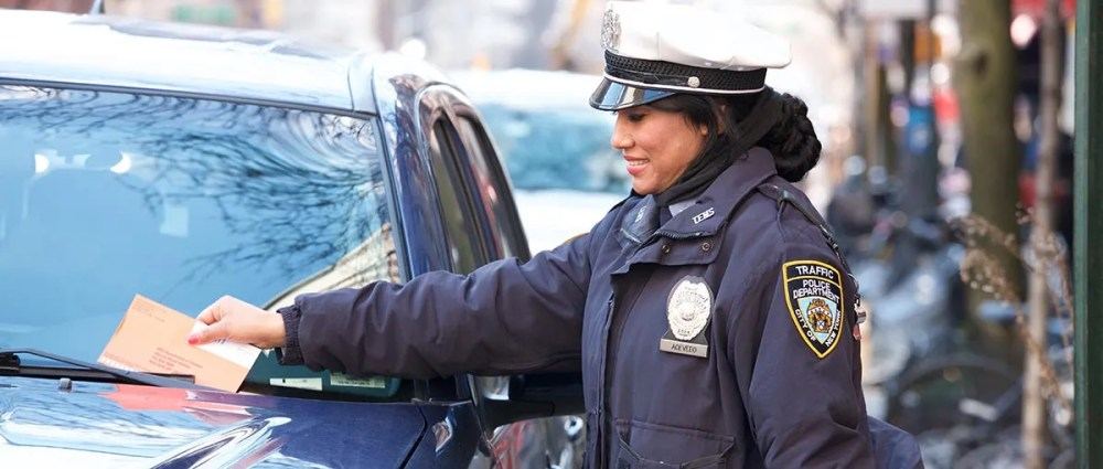 NYPD Traffic Enforcement Agent