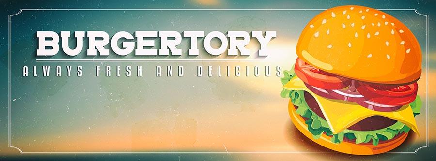 Burgertory banner