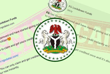 FG Lockdown Funds : Watch Out For This Online Scam!