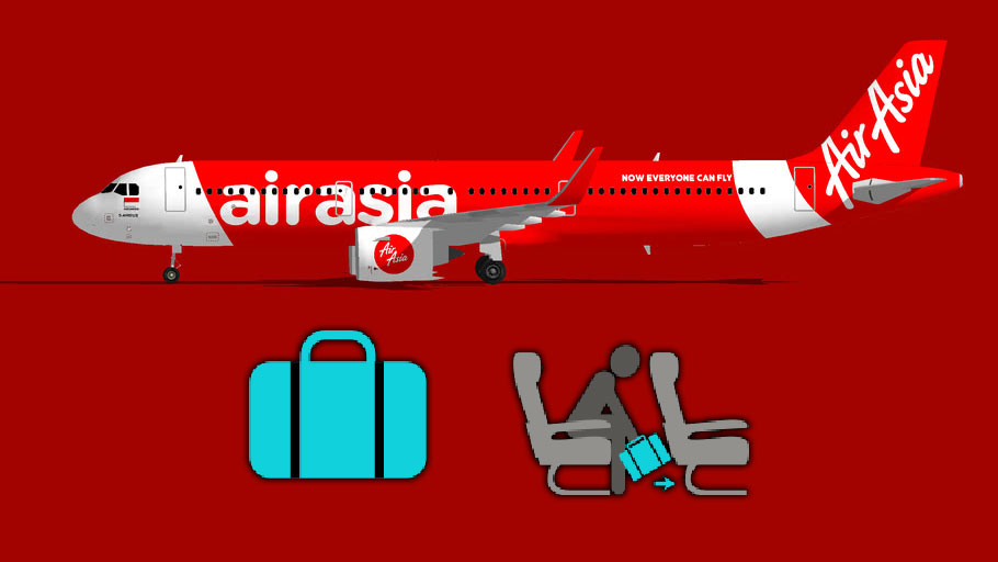 You Can Now Use Wheeled Cabin Luggage On AirAsia!
