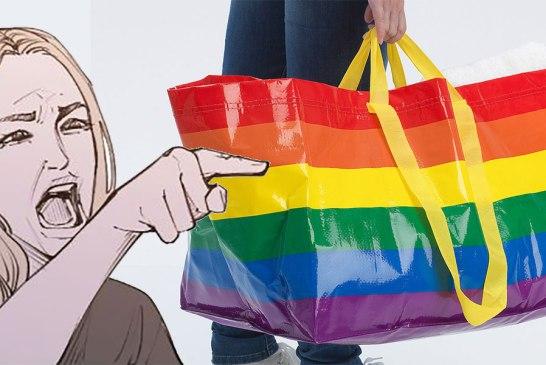 Malaysian Karen Threatens IKEA Boycott Over LGBT Bag!