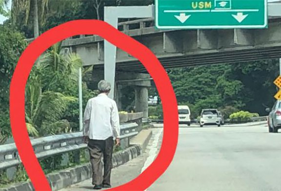 Old Robber Targeting Motorists In Penang : No Such Thing!