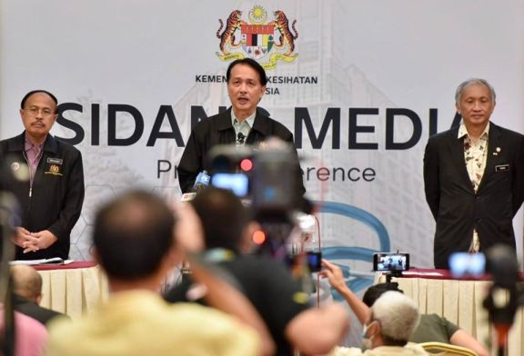 COVID-19 Malaysia : 19627 Cases, 12561 Healed, 180 Dead
