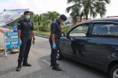 RM1K Fine For Sitting Next To Driver During CMCO / PKPB?