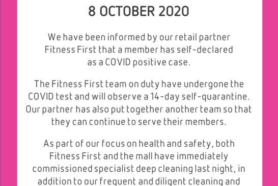 Setia City Mall COVID-19 statement 01