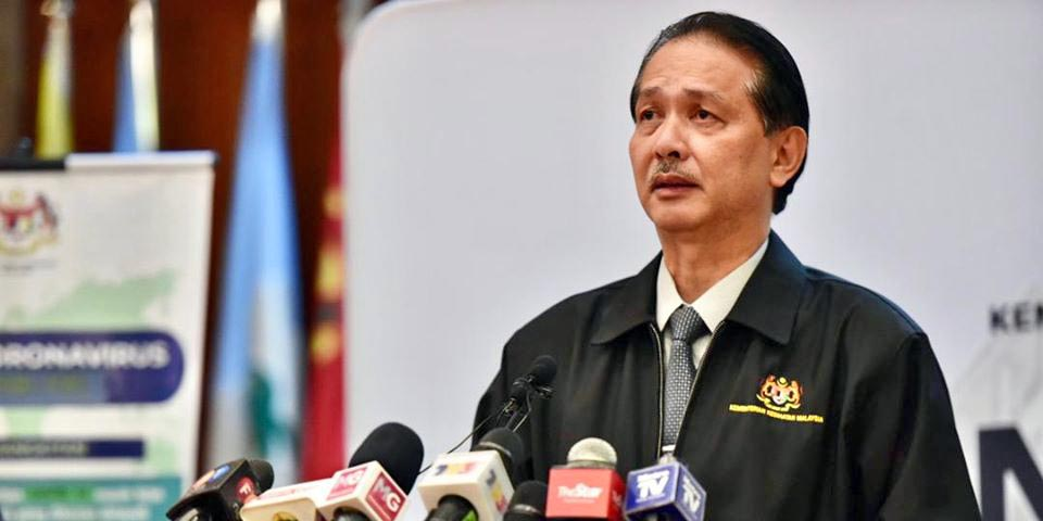 COVID-19 Malaysia : 50390 Cases, 37254 Healed, 322 Dead