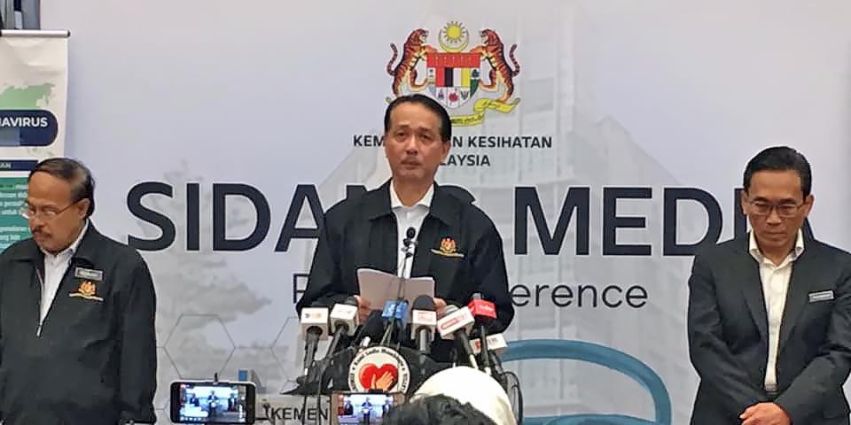COVID-19 Malaysia : 58847 Cases, 44153 Healed, 341 Dead