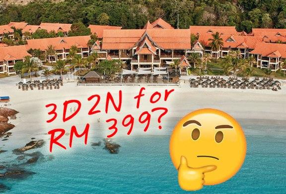 RM399 Laguna Redang Holiday : A Umance Scam?