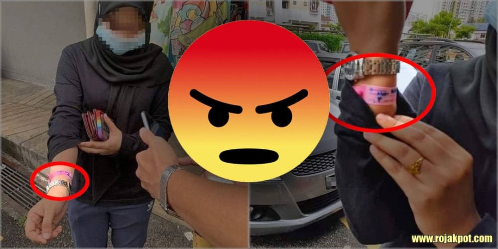 Lady With COVID-19 Bracelet Caught In Bayan Lepas!