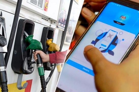 Scan MySejahtera At Petrol Station, Or Get RM1K Fine?