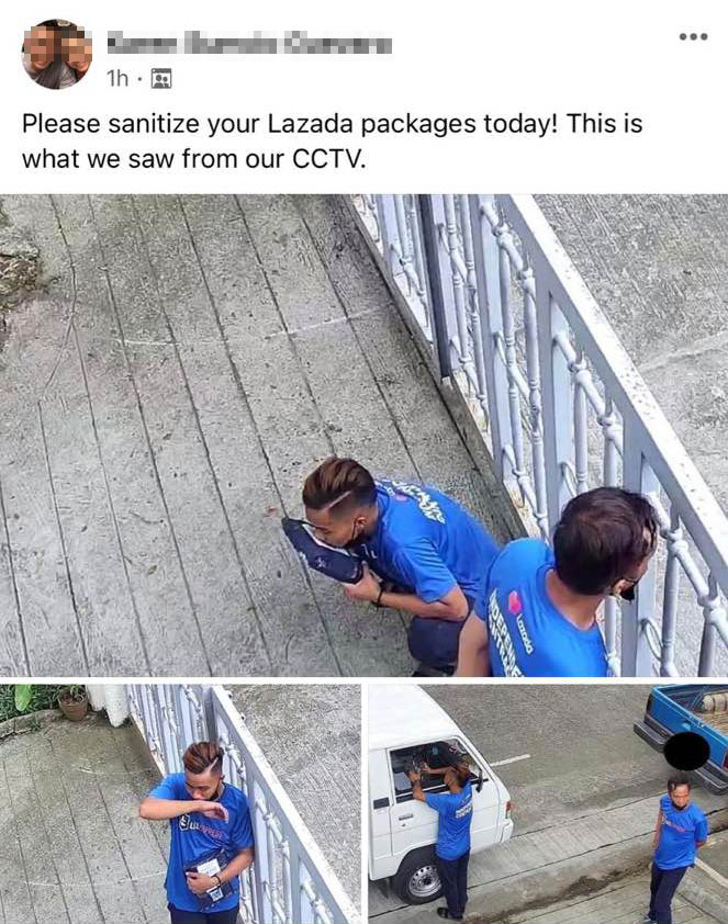 Was A Lazada Delivery Guy Caught Licking A Parcel?