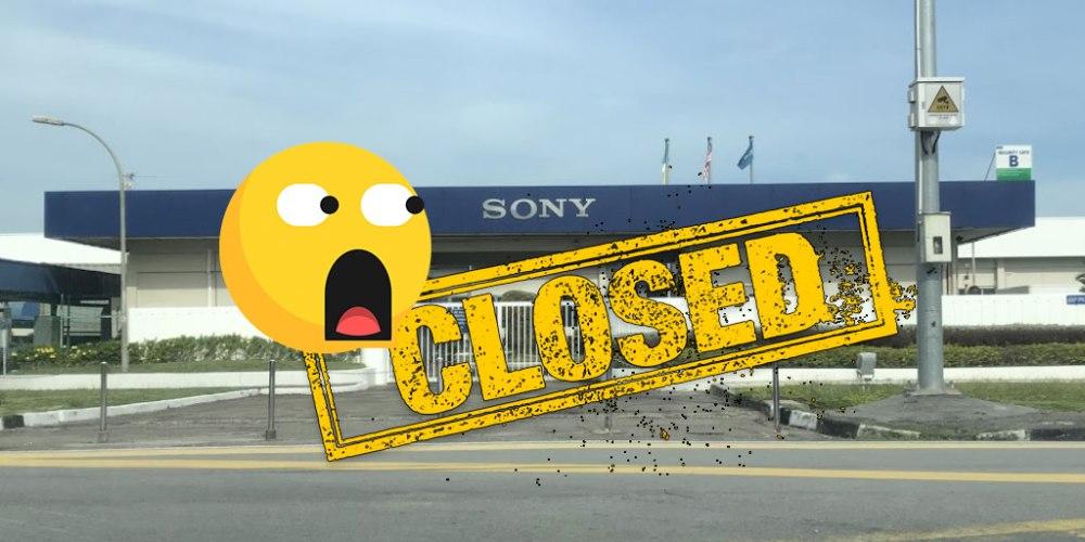 End Of An Era : Sony Will Shut Down PG Tec Facility