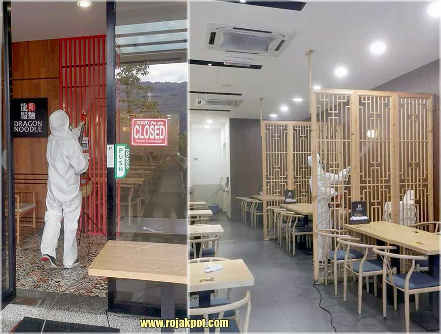 Dragon Noodle 龍鬚麵 : Closed After COVID-19 Case!