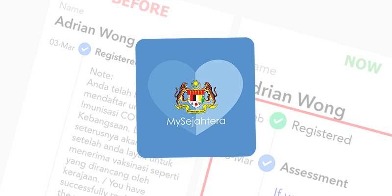 MySejahtera Now Shows Correct Vaccination Dates!