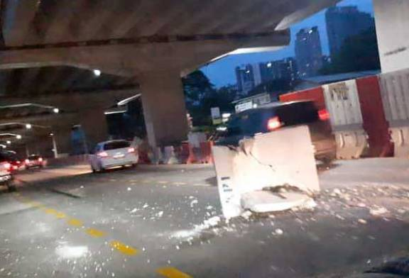 Concrete Block Fell Off Lorry, Not SUKE Highway!