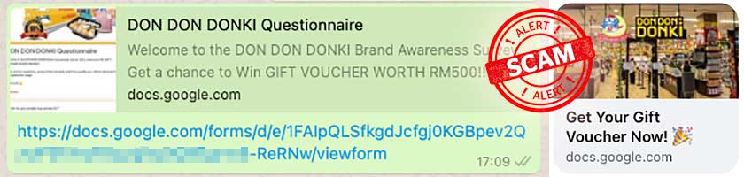 RM500 Don Don Donki Giveaway Is A Scam!