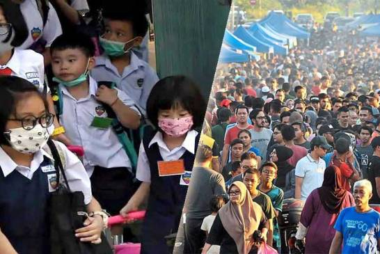 Selangor Closes Schools + Ramadan Bazaars!