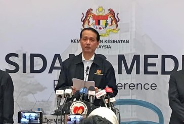 COVID-19 in Malaysia : 603122 Cases, 515571 Discharged, 3182 Dead