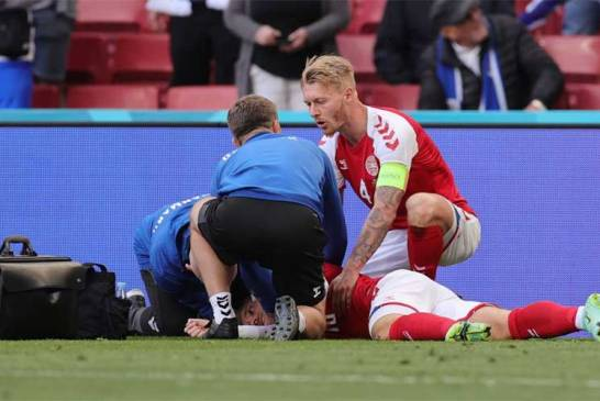 Did Christian Eriksen Collapse Because Of Pfizer Vaccine?