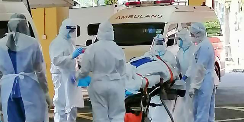 COVID-19 in Malaysia : 1044071 Cases, 865439 Discharged, 8408 Dead