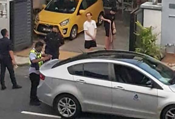 Did Police Fine Subang Jaya Residents Playing Badminton?