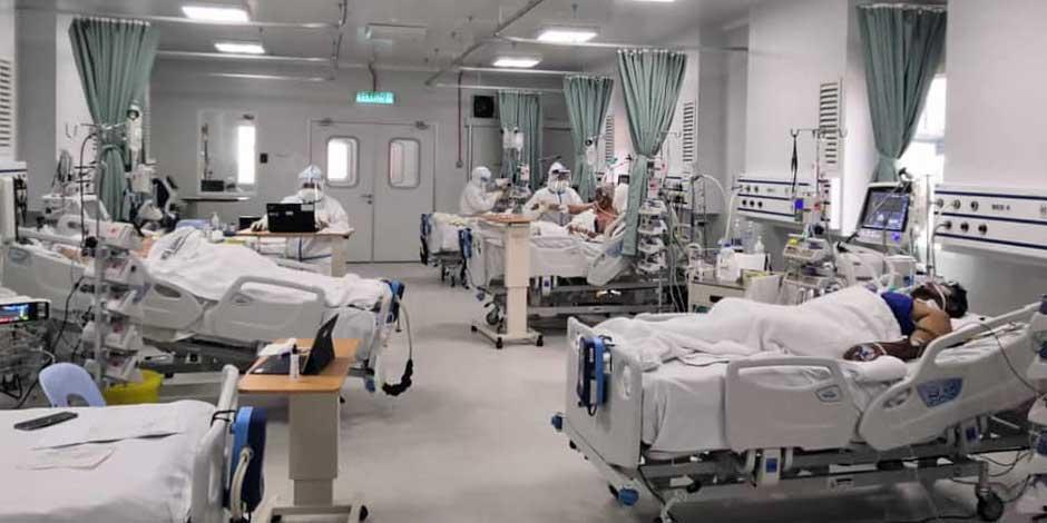 COVID-19 in Malaysia : 1,243,852 Cases   10,389 Dead