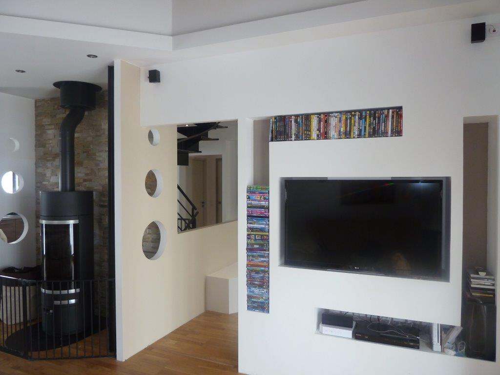 Meuble Tv Intgr Maison Et Mobilier Dintrieur