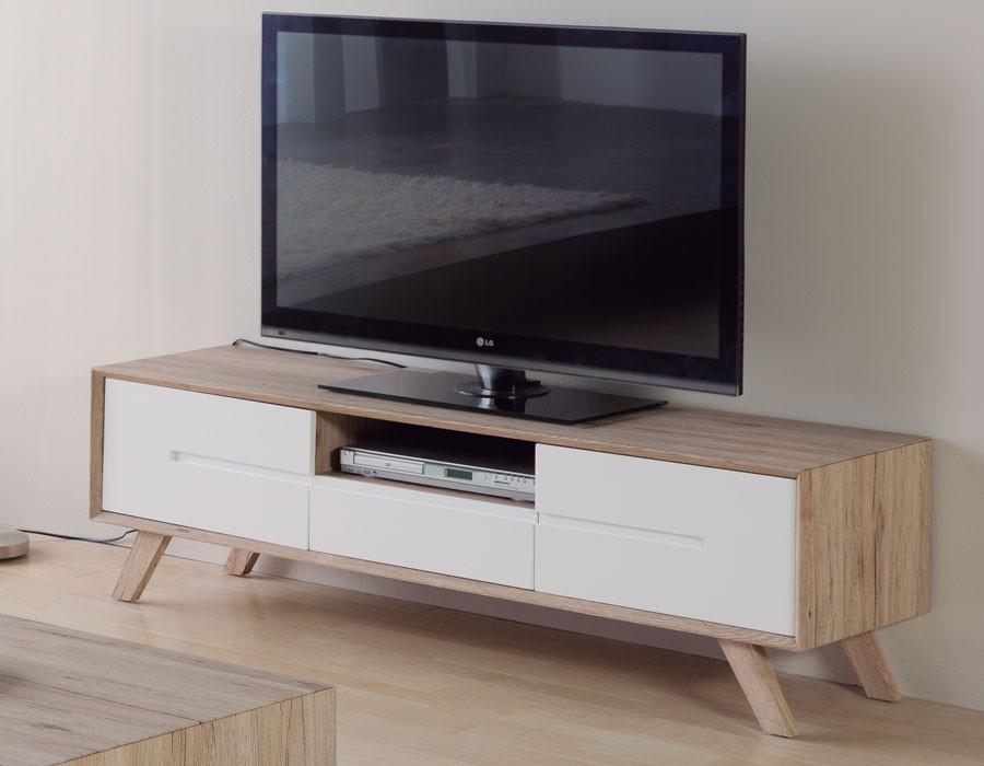 Meuble Tv Scandinave Maison Et Mobilier Dintrieur