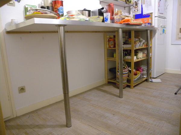 Meuble De Cuisine Avec Plan De Travail Ikea Maison Et