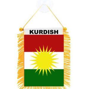 Kurdistan flag för bilar