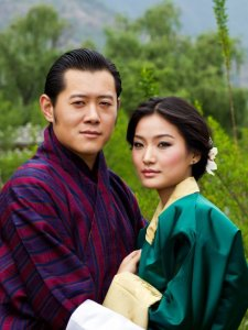 Kung Jigme Khesar Namgyel Wangchuck, Drottning Jetsun Pema