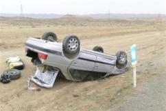 خوی ، شوط ، تصادف جادهای