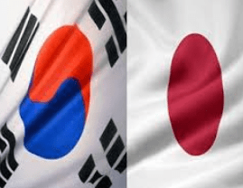 korea japan image