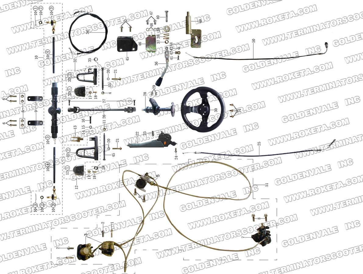 Wiring Diagram For Roketa Go Kart Engine Diagram Wiring
