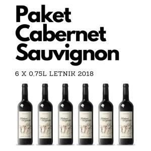 paket Cabernet Sauvignon 2018