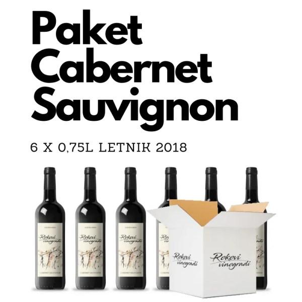 Paket 6 x 0,75l Cabernet Sauvignon 2018