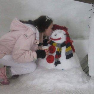 Sneško se otopio :)