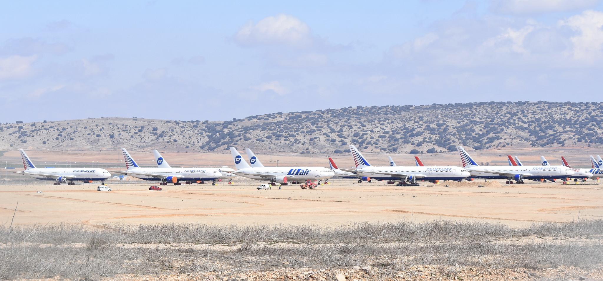 Odmorište ili čistilište za avione: Španski aerodrom Teurel čuva ono što drugi odbacuju
