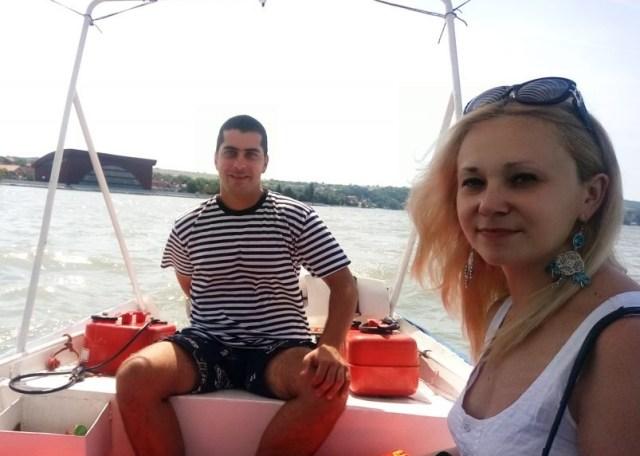 Jovan Kocmanović i ja u vožnji