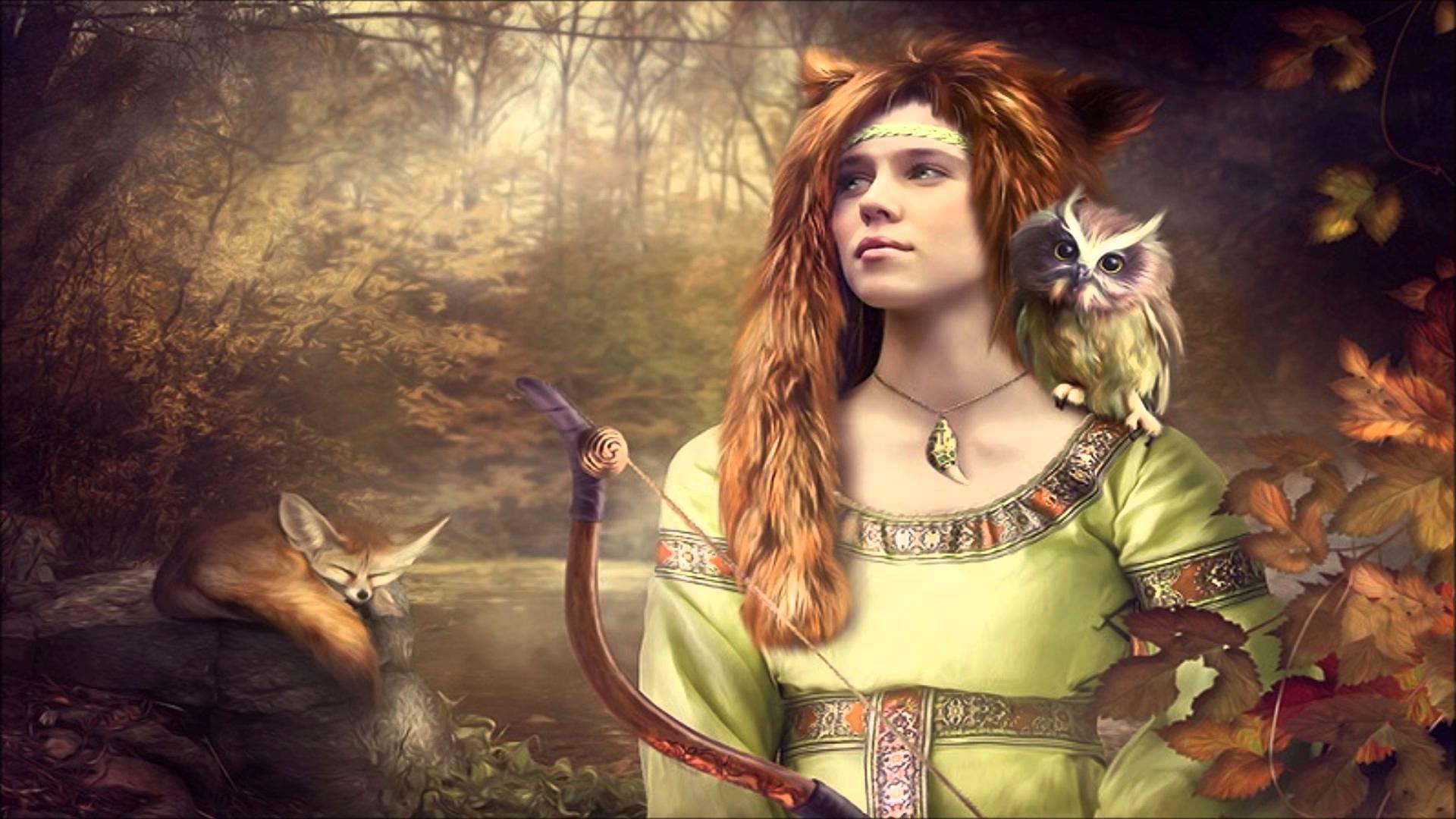 Odana Velesova supruga: Devana je čuvala šume, divlje životinje, reke i jezera
