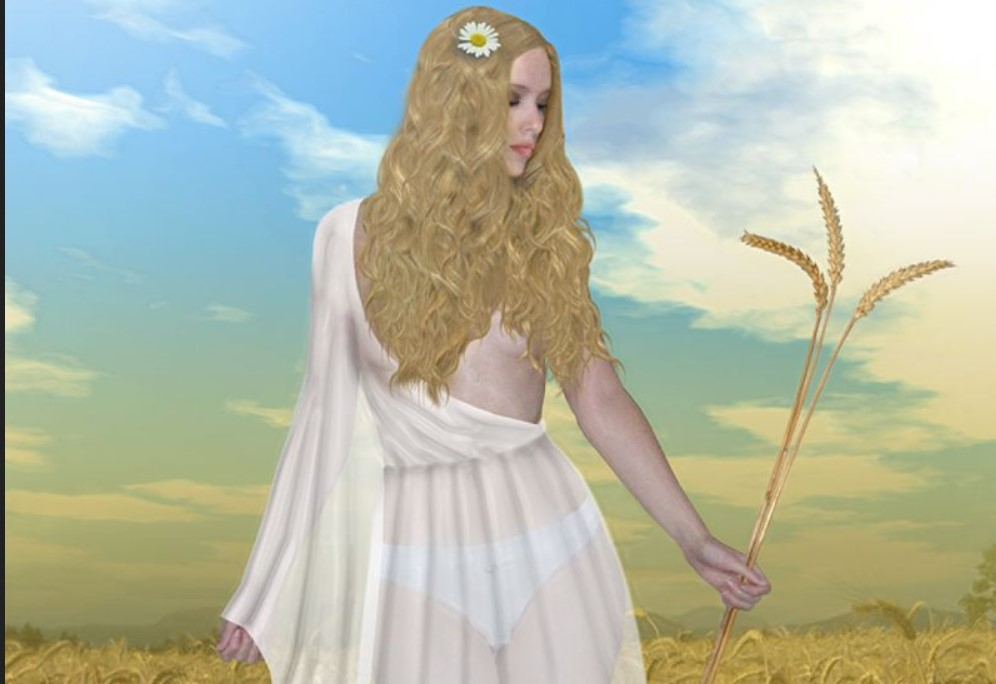 Velika boginja plodnosti - Živa: Svetovidova pratilja sa zlatnom kosom