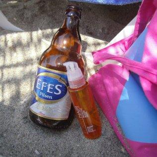 Efes pivo na plaži