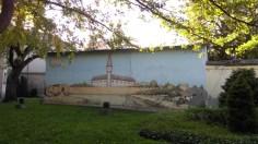 Mural sa bečkerečkom tvrđavom