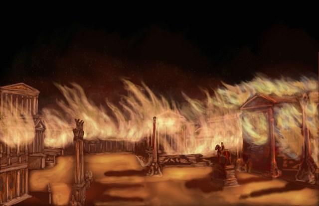 Kako je goreo Rim: Požar koji je trebalo da inspiriše cara Nerona