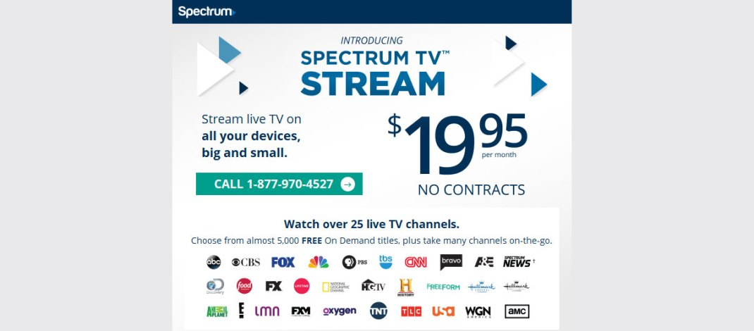 Spectrum TV Stream On Your Roku & Other Devices