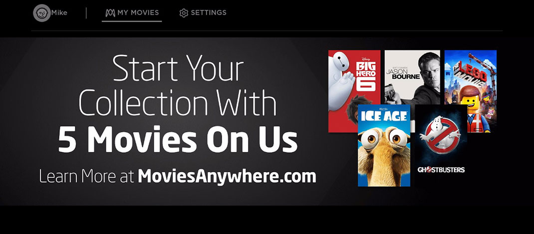 Movies Anywhere Launches On Roku, Get Free Movies For Activating